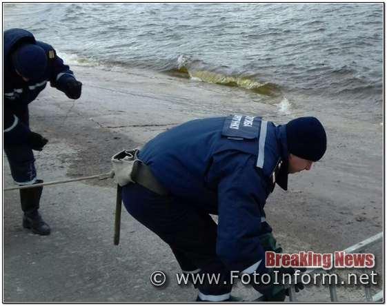 Кіровоградщина: на Кременчуцькому водосховищі знайшли тіло загиблого чоловіка (ФОТО)