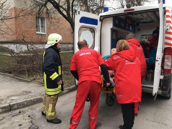 5 квітня о 16:55 до Служби порятунку «101» надійшло повідомлення про пожежу на вул. Приморській м. Світловодськ.