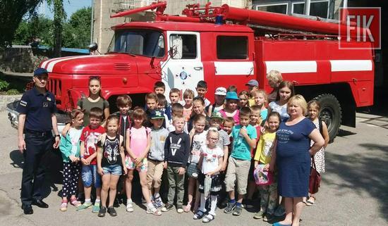 11 червня до рятувальників 18-ї Державної пожежно-рятувальної частини м. Знам'янка завітали учні Суботцівської загальноосвітньої школи.