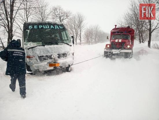 Кіровоградщина: оперативна інформація щодо погоди та ситуації на дорогах (ФОТО)