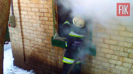 23 січня о 08:23 до Служби порятунку «101» надійшло повідомлення про пожежу на території приватного домоволодіння на вул. Декабристів м. Долинська.