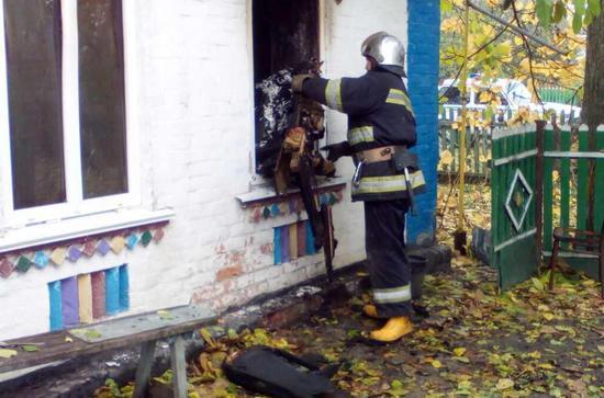 На Кіровоградщині під час гасіння пожежі виявили тіло загиблого чоловіка