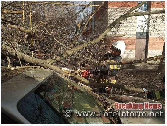 Буревій на Кіровоградщині, внаслідок, негоди знеструмлено 7 населених пунктів