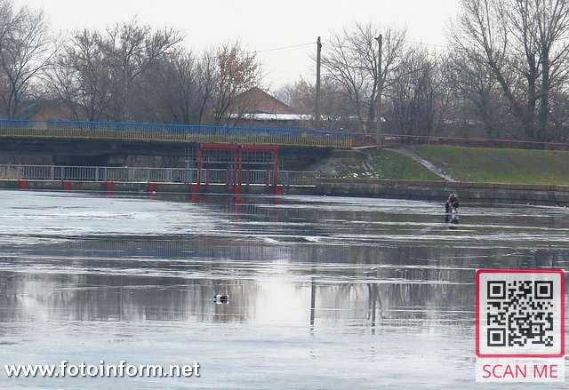 зимові рибалки, нехтують правилами безпеки на льоду, ФОТО