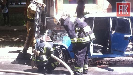 30 травня о 13:40 до Служби порятунку «101» надійшло повідомлення про пожежу автомобіля на проспекті Соборному м. Олександрія.