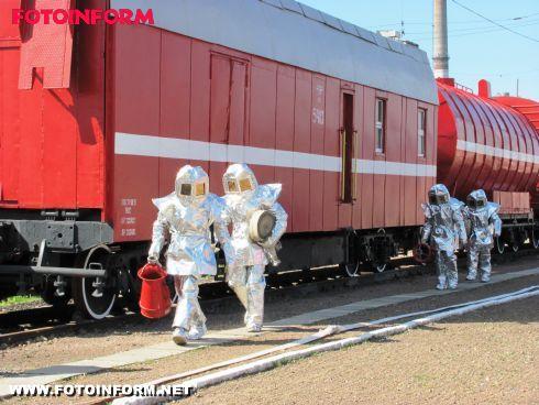 Команда пожежників Одеської залізниці одна з кращих в Україні (ФОТО)