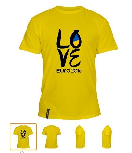 Фан-футболка сборной Украины для Евро-2016