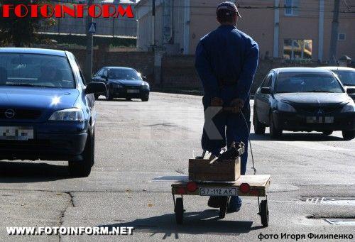 В Кировограде появился «прикольный» вид транспорта (ФОТО)