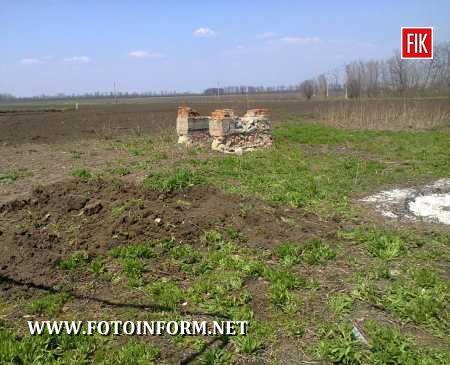 Кіровоградщина: вибух артилерійського снаряду - чоловік у реанімації (ФОТО)