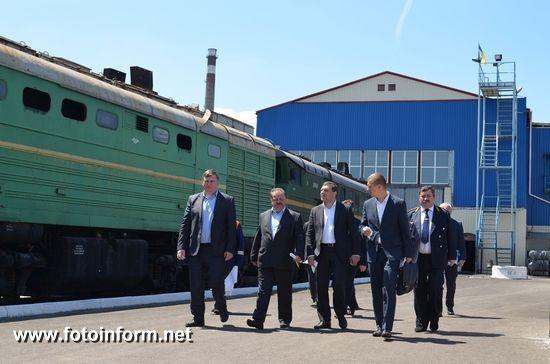 24 травня 2017 року директор регіональної філії «Одеська залізниця» ПАТ «Укрзалізниця» В'ячеслав Єрьомін з робочим візитом відвідав виробничі підрозділи господарств Херсонського залізничного вузла та зустрівся із колективом дирекції залізничних перевезень.