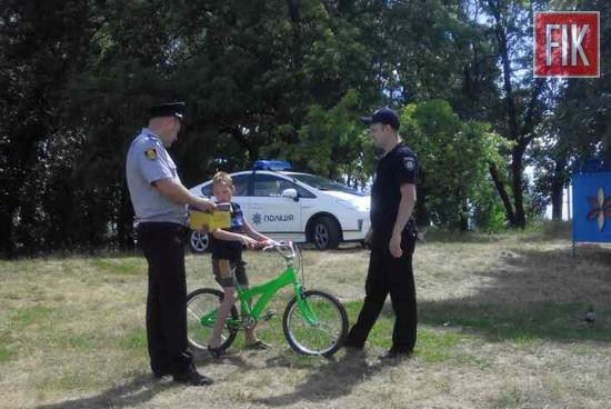 На Кіровоградщині поліцейські проводять відпрацювання пляжів (ФОТО)