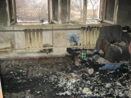Кіровоградська область: під час пожежі врятовано чоловіка та жінку (ФОТО)