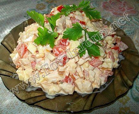 "Вкусный салатик ""Аппетит"" (фото)"