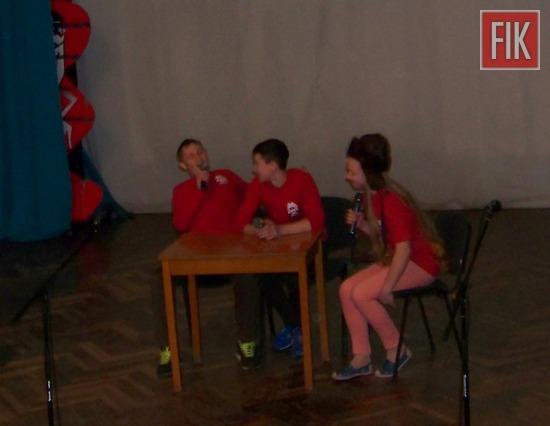 Кожен етап чемпіонату шкільних команд КВН Кіровоградської області завжди проходить кмітливо, винахідливо, артистично і з гумором.