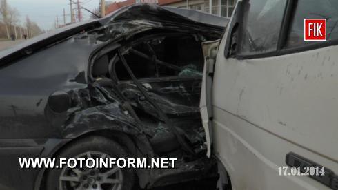 17 січня близько 13:00 на вулиці Героїв Сталінграда сталася дорожньо-транспортна пригода , в результаті якої постраждали 2 особи.