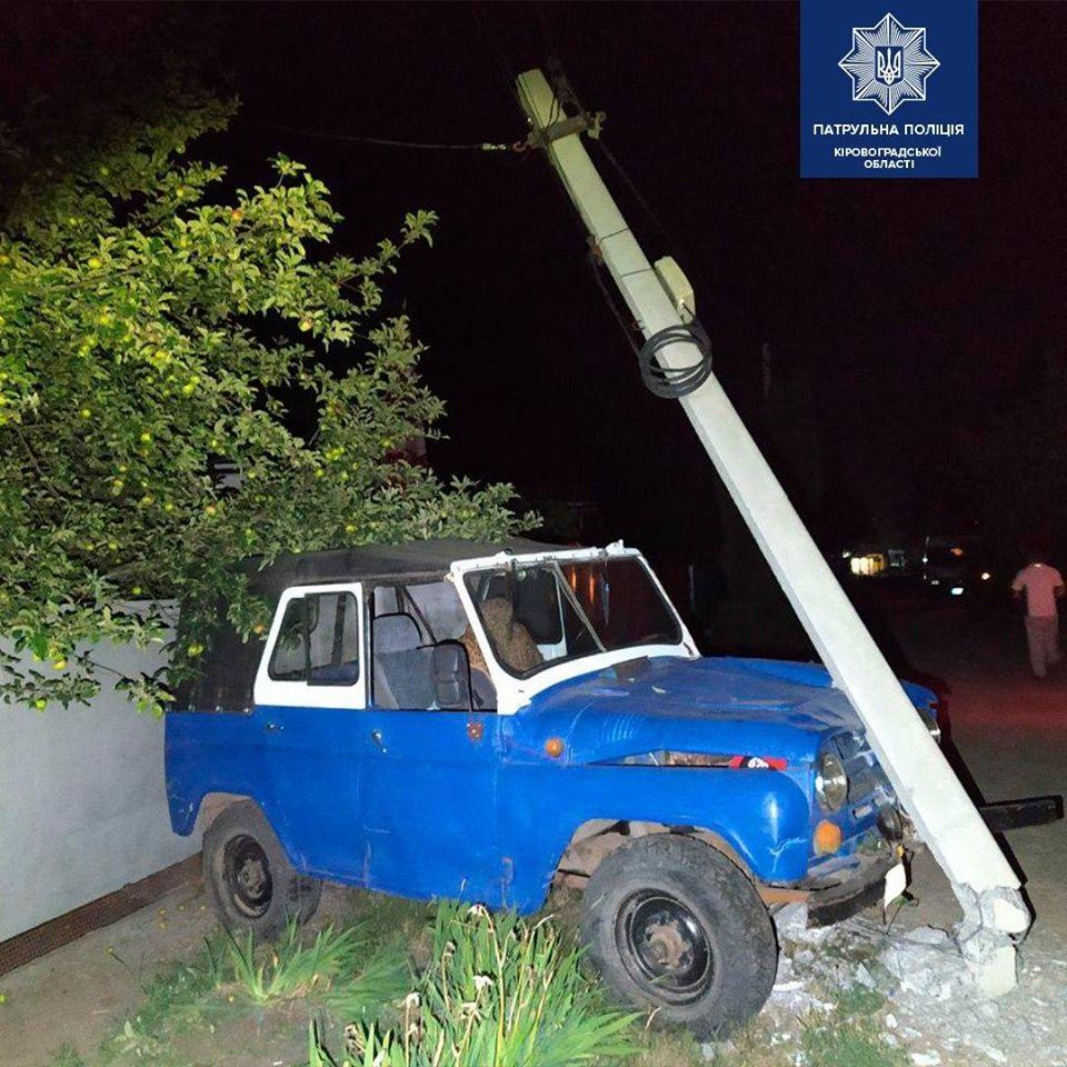 Під час патрулювання містом інспектори помітили автомобіль УАЗ, який рухався у темну пору доби з несправними фарами. Подія трапилась вчора близько 1-ї години на вулиці Січова.