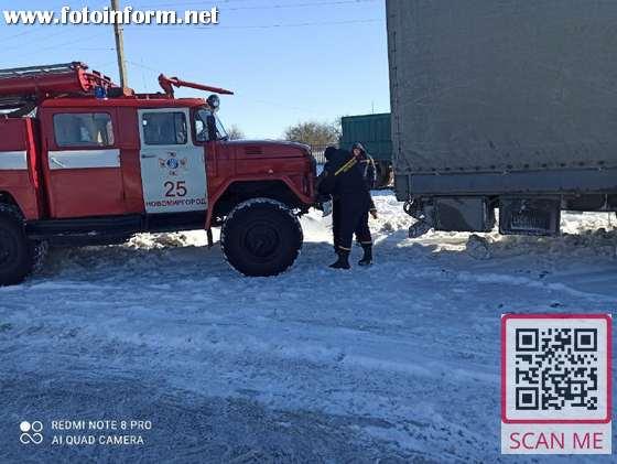 За добу, що минула, рятувальники Кіровоградського гарнізону надали допомогу водіям 5 транспортних засобів на дорогах області.