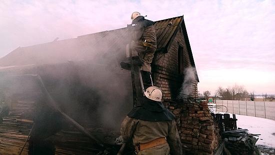 18 січня о 14:45 до Служби порятунку «101» надійшло повідомлення про пожежу господарчої споруди на території приватного домоволодіння у м. Новомиргороді.