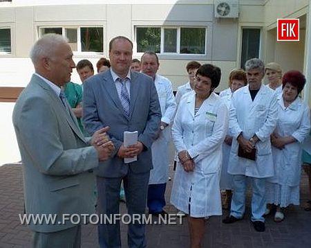 Радник Президента України Володимир Зубанов ознайомився з роботою перинатального та діагностичного центрів обласної лікарні