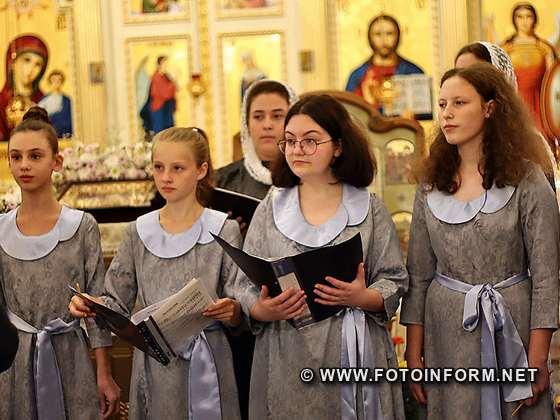 в храмі відбувся святковий концерт