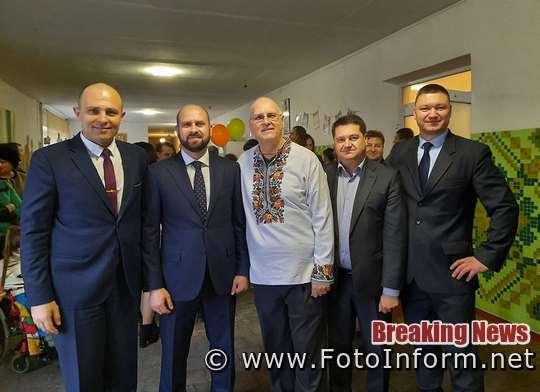 Голова Кіровоградської ОДА познайомився з Беррі Джозефом Рідом