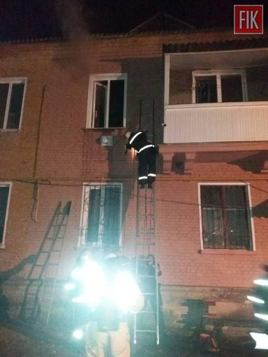 12 січня 17:21 до Служби порятунку «101» надійшло повідомлення про пожежу у двоповерховому житловому будинку на вул. Бориса Нечерди в м. Олександрія.