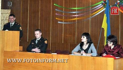 Питання забезпечення пожежної безпеки закладів охорони здоров'я м. Кіровограда розглянуто на оперативній нараді, що відбулася 12 березня під головуванням начальника управління охорони здоров'я міської ради Оксани Макарук.