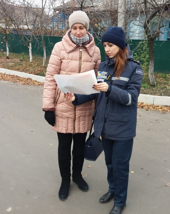 На Кіровоградщині продовжують інформувати населення щодо правил поведінки у повсякденному житті