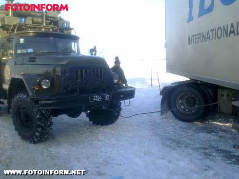Кіровоградщина: на автошляху надано допомогу громадянину Туреччини (фото)