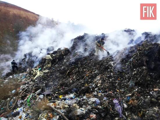 До Служби порятунку «101» надійшло повідомлення про пожежу на сміттєзвалищі у м. Олександрія.