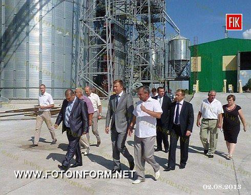 Кіровоградщина: розпочав роботу сучасний елеваторний комплекс (ФОТО)