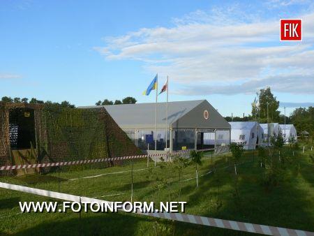 Голова ДСНС України високо оцінив роботу кіровоградських рятувальників під час масштабних навчань (фоторепортаж)