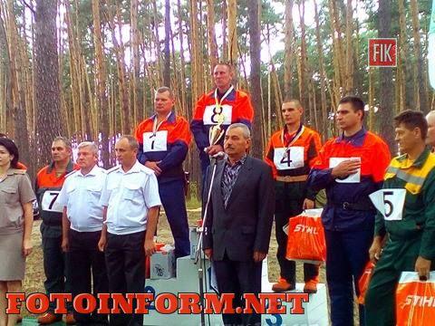 Вчера, 22 июля, в Кировоградской области на базе Александровского района состоялось традиционное мероприятия - областные соревнования вальщиков леса.
