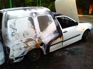 У Кіровограді по вул.Яновського загорівся автомобіль