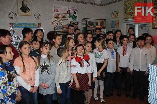 У смт Вільшанці, Кіровоградській області стартував проект «Книжкове Різдво».