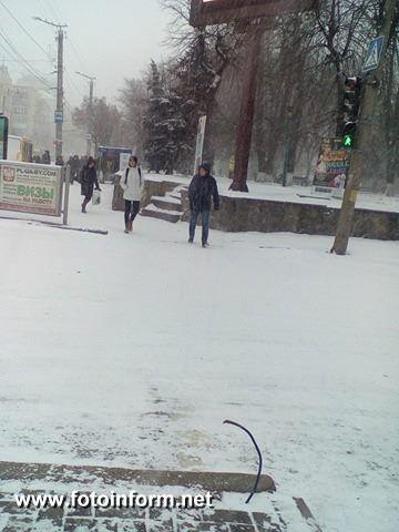 На оживленном перекрестке в центре Кропивницкого «пропал» светофор.