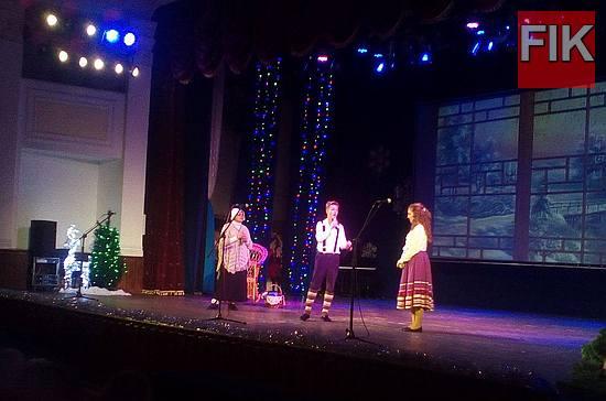 В Кропивницком состоялась «Архиерейская елка», Кировоградской областной филармонии,Ирина Полонская