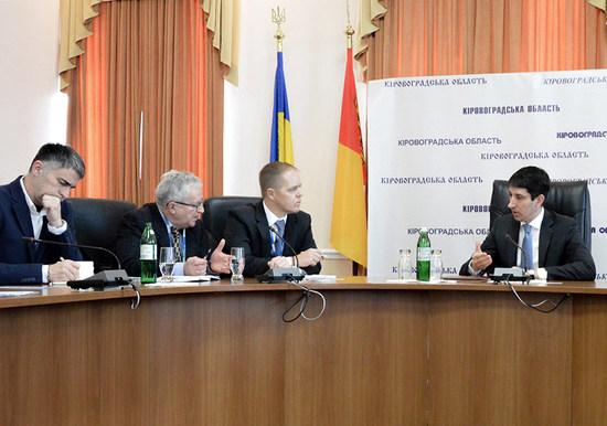Сьогодні відбулася зустріч голови облдержадміністрації Сергія Кузьменка із спостерігачами Спеціальної моніторингової місії ОБСЄ.