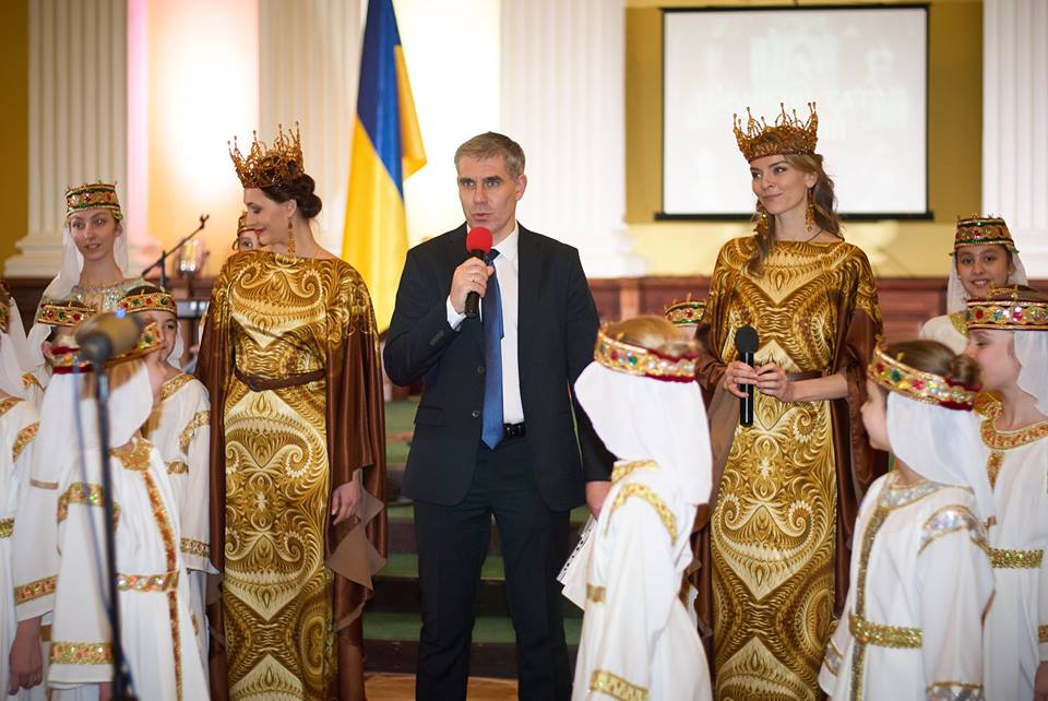 У Києві представили Великих татусів країни, Великий тато України
