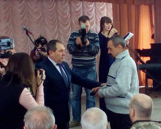 У Кропивницькому вручили нагороди та грошову допомогу воïнам-iнтернацiоналiстам