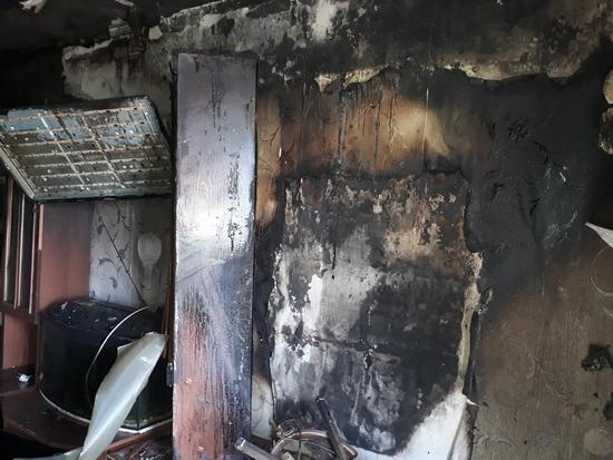 6 травня об 11:24 до Служби порятунку «101» надійшло повідомлення про пожежу на на вул. Літвінова у смт Петрове Кіровоградської області.