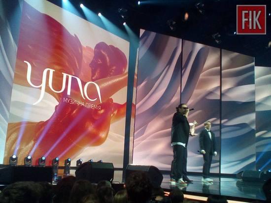 У Києві стартувала церемонія нагородження «YUNA»