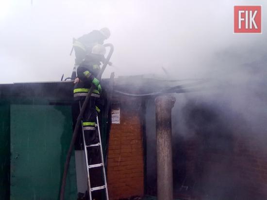 18 квітня о 17:03 до Служби порятунку «101» надійшло повідомлення про пожежу на території приватного домоволодіння на вул. Центральна в смт Онуфріївці.