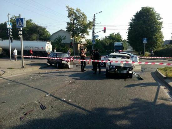 У Кропивницькому на перехресті Варшавської трапилося ДТП