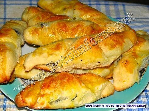 Вкусные маковые рогалики (фото), домашний повар, рецепты, Игорь Филипенко