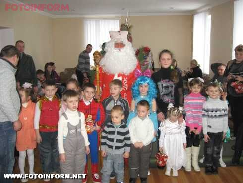 Новий рік у діточок персоналу Кіровоградського слідчого ізолятору (фото)