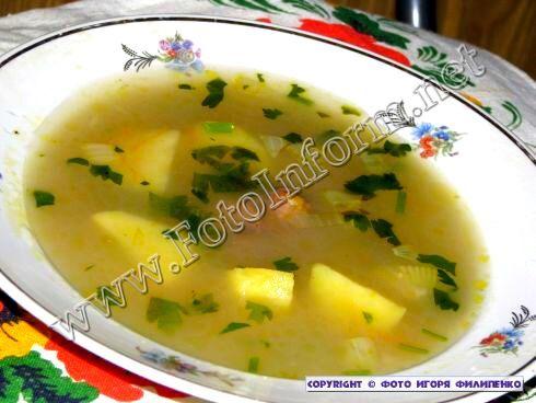 Вкусный рецепт ячневого супа (фото)