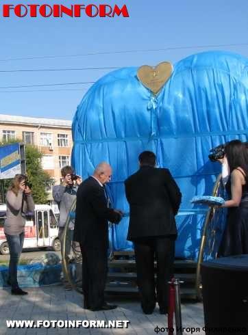 В центре Кировограда появился новый памятник влюбленным, Копилка, Ул.Ушакова