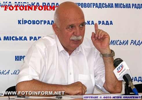 Александр Саинсус: работа Кировоградского горсовета в первом полугодии 2012 года (фото)