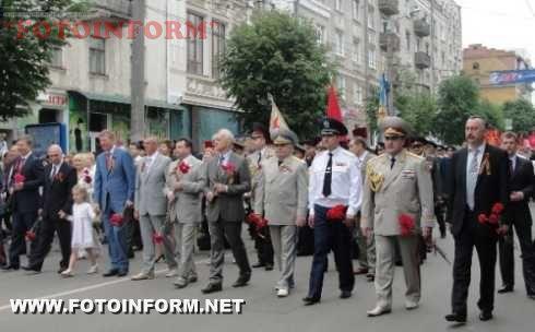 Працівники міліції вшанували ветеранів Великої Вітчизняної війни (ФОТО)
